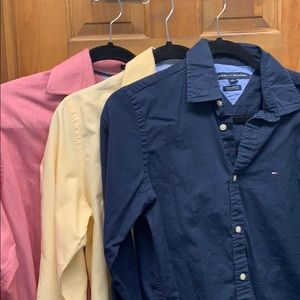 Tommy Hilfiger Shirts - Lot of 3 size S, M, XS Tommy Hilfiger button down